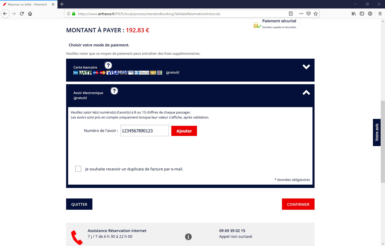 air france réduction carte d invalidité Carte cadeau Air France : payez 150€ et recevez un avoir de 180